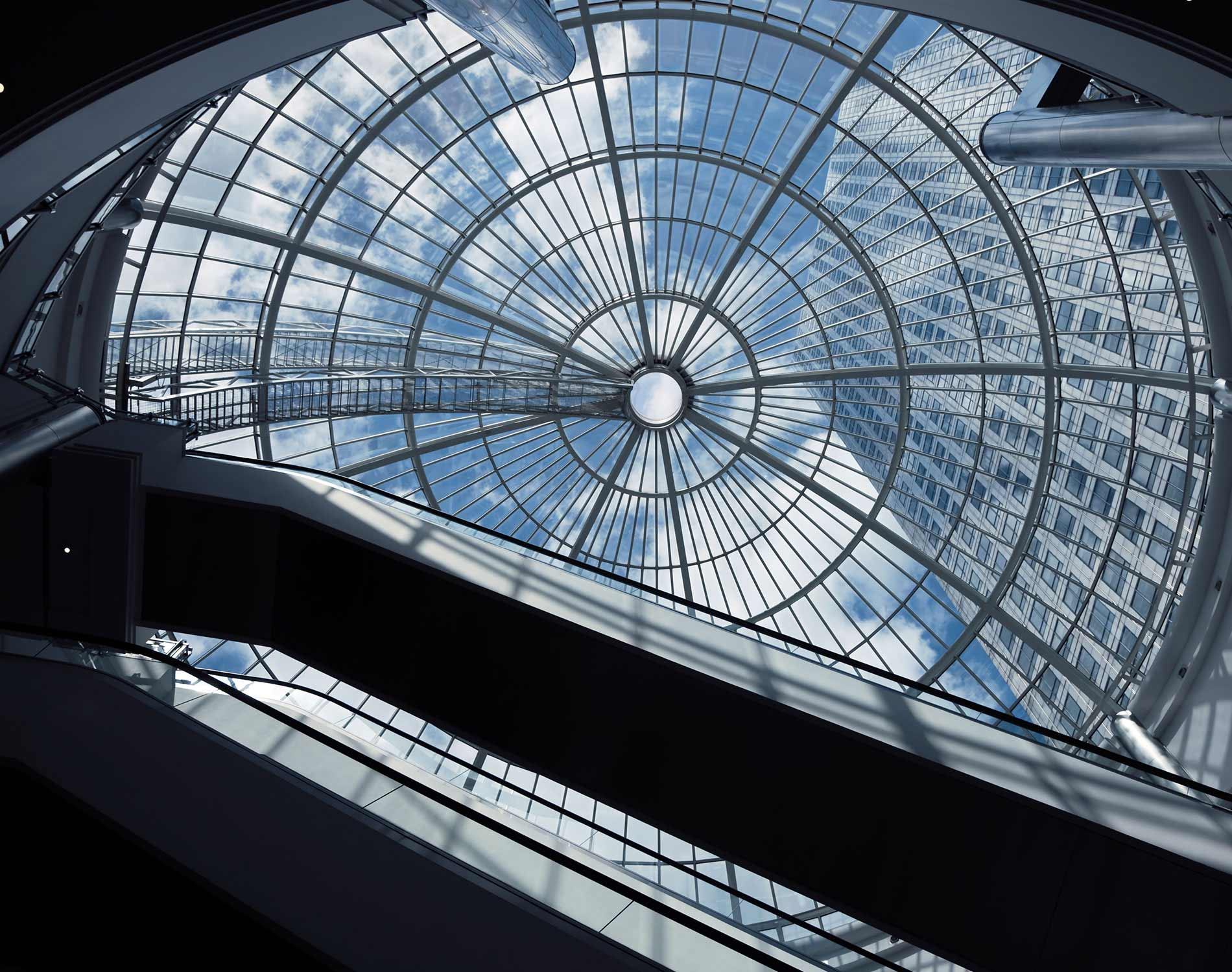 Height of glass ceiling